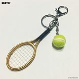 SEXTO - 테니스(TENNIS)GOLD 키링 가방장식