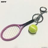 SEXTO - 테니스(TENNIS)PINK 키링 가방장식