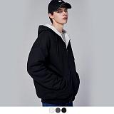 [11월24일 예약발송] [어커버]ACOVER - BOA SWEAT HOODIE ZIP UP 양털 보아털 후드집업 집업