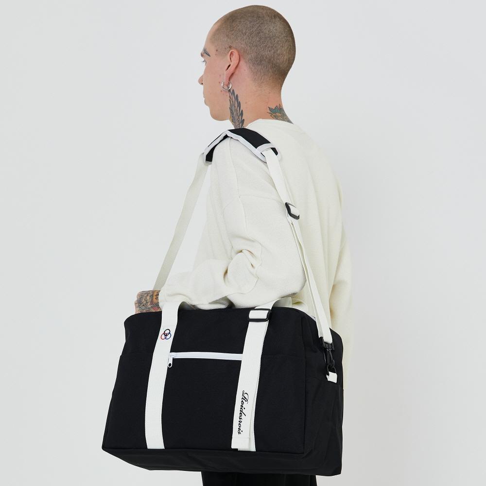 [로아드로아] BAAM BOSTON BAG (BLACK) 보스턴백 숄더백 크로스백 가방