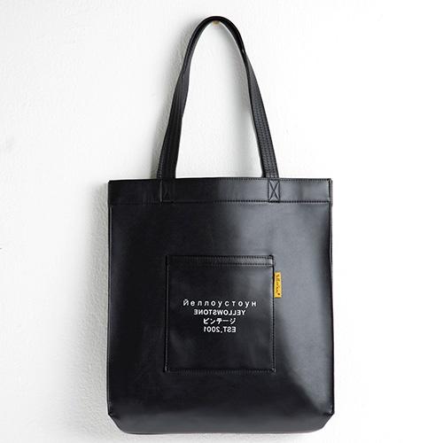 [옐로우스톤] PREMIUM LEATHER ECOBAG -YS2038BR /BALCK  가죽 레더 에코백 가방