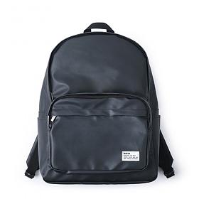 [버빌리안]bubilian - Water Proof backpack [ BLACK ]코팅 무지 백팩