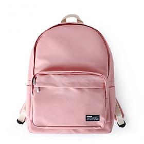 [버빌리안]bubilian - Water Proof backpack [ PINK ]코팅 무지 백팩