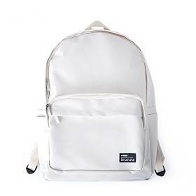 [버빌리안]bubilian - Water Proof backpack [ CREAM ]코팅 무지 백팩