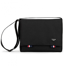 [핍스 5주년] PEEPS bridge messenger bag(black) 크로스백 메신저백