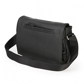 [만다리나덕]MANDARINADUCK - TOUCH DUCK medium crossover with flap PVT02651 (Black) 크로스백
