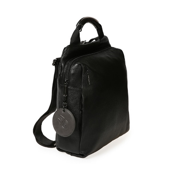 [만다리나덕]MANDARINADUCK - MELLOW LEATHER backpack FZT66651 (Black) 백팩