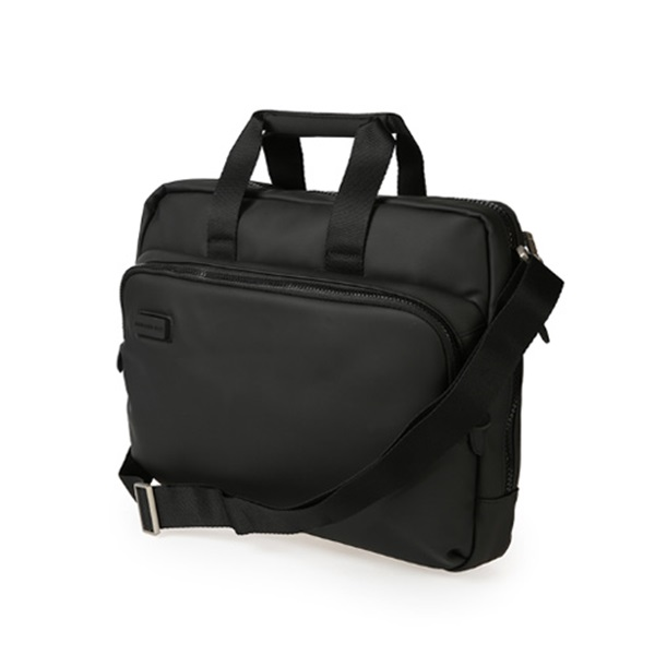 [만다리나덕]MANDARINADUCK - TOUCH DUCK briefcase with shoulder strap PVC01651 (Black) 서류가방