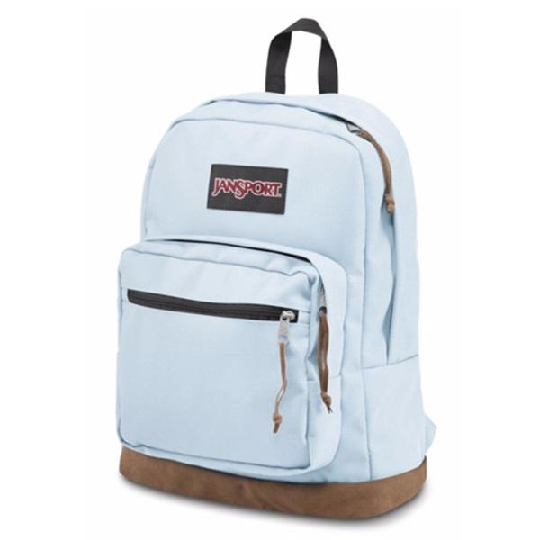 정품뱃지증정 [잔스포츠]JANSPORT - 라이트팩 오리지널 (TYP70SH - Palest Blue) 잔스포츠코리아 정품 AS가능 백팩 가방 스쿨백 데이백 데일리백