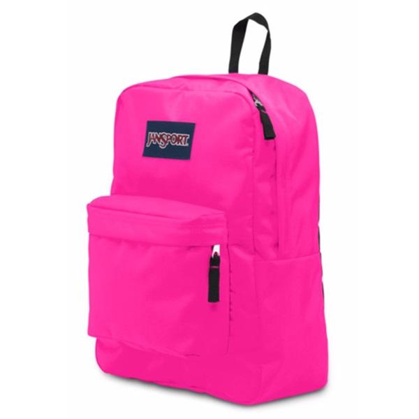 정품뱃지증정 [잔스포츠]JANSPORT - 슈퍼브레이크 (T5010R4 - Ultra Pink) 잔스포츠코리아 정품 AS가능 백팩 가방 스쿨백 데이백 데일리백