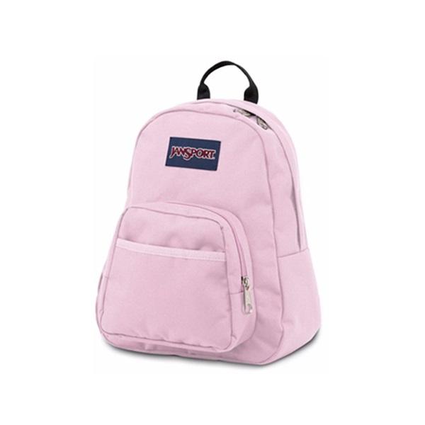 정품뱃지증정 [잔스포츠]JANSPORT - 하프파인트 (TDH63B7 - Pink Mist) 잔스포츠코리아 정품 AS가능 백팩 가방 스쿨백 데이백 데일리백