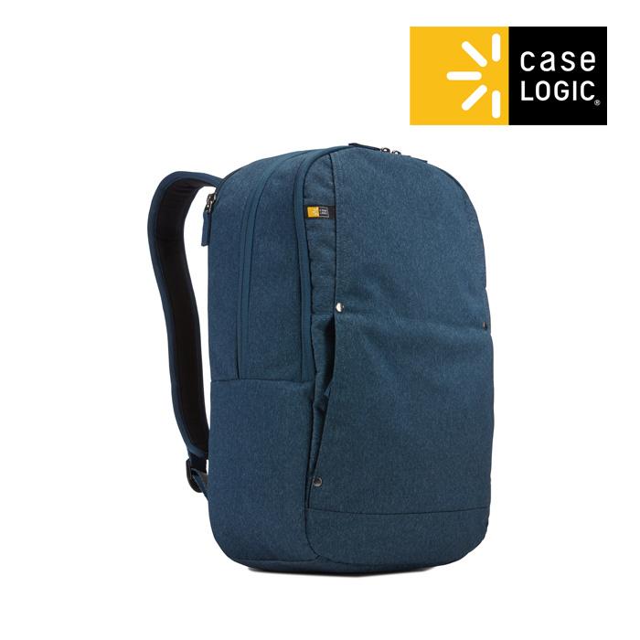 [단독판매][케이스로직]CASELOGIC - 헉스턴 데이팩 블루 노트북 백팩 가방