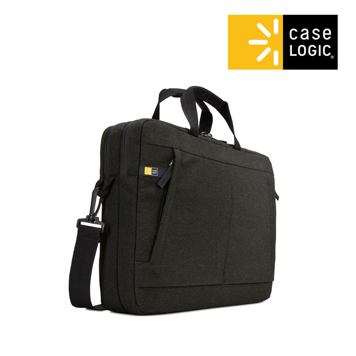 [케이스로직]CASELOGIC - 헉스턴 노트북백 15.6인치 블랙 가방 브리프케이스