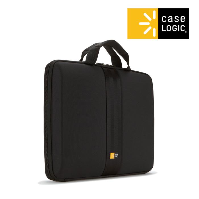 [케이스로직]CASELOGIC - 세인트 노트북 아타셰 가방 13.3인치 블랙 브리프케이스