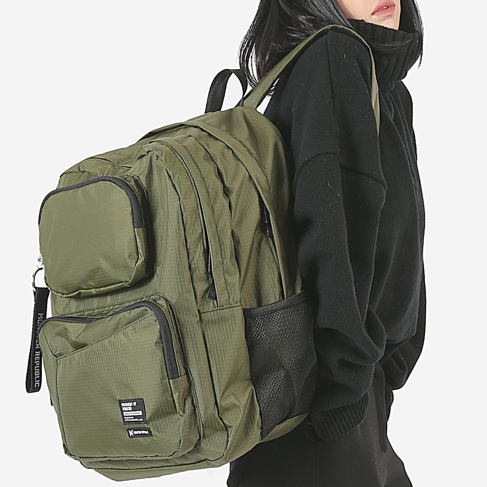 [몬스터 리퍼블릭][사은품 키링 증정/구매후기 지갑증정] COMMA GRAM DAYPACK / KHAKI 백팩