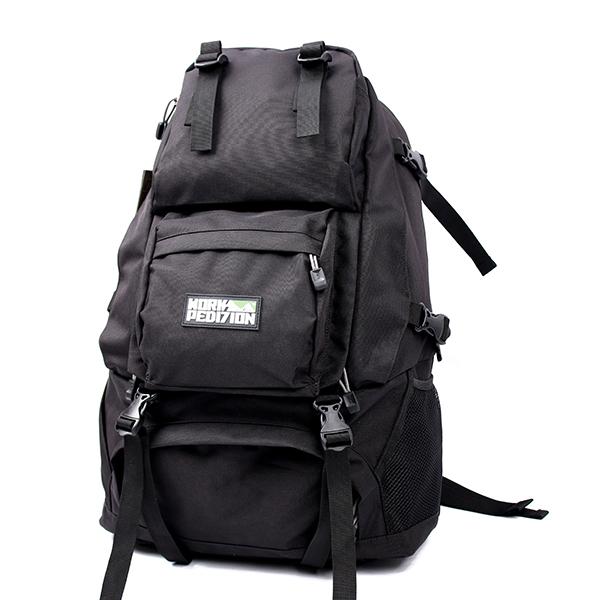 웍스페디션 스위프트 40리터 전술 백팩 블랙 밀리터리 가방 캠핑 여행