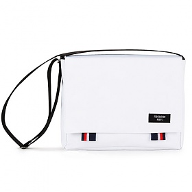 [핍스] PEEPS bridge messenger bag(white)