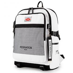 [핍스]PEEPS federation backpack(white) 백팩