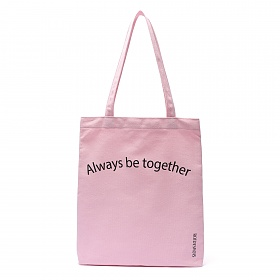 [로아드로아]ROIDESROIS - TOGETHER ECO BAG (PINK) 가방 에코백