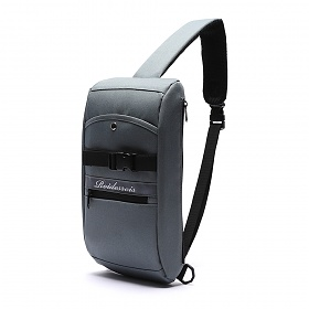 [로아드로아]ROIDESROIS - FRONT BUCKLE SLING BAG (D.GRAY) 가방 슬링백