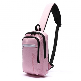 [로아드로아]ROIDESROIS - DOUBLE SQUARE SLING BAG (PINK) 가방 슬링백