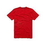타미힐피거 맨즈 라운드 반팔 티셔츠 612 레드 남녀공용 TOMMY HILFIGER 정품 국내배송