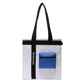 [로아드로아]ROIDESROIS - 3D POCKET SHOULDER BAG (WHITE) 가방 에코백