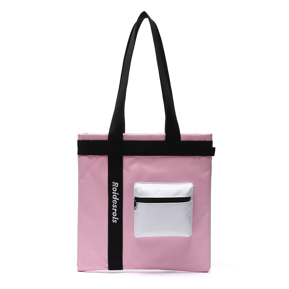 [로아드로아]ROIDESROIS - 3D POCKET SHOULDER BAG (PINK) 가방 에코백
