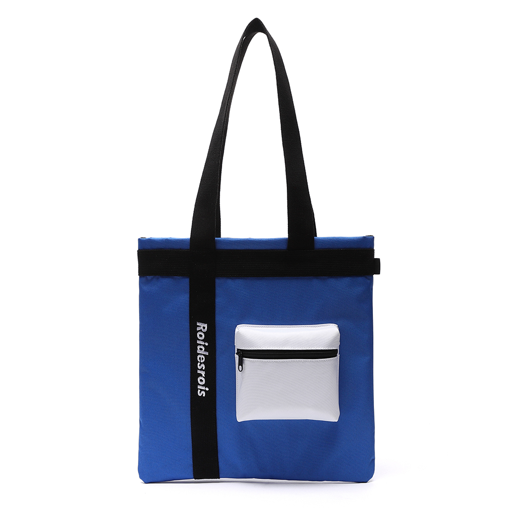 [로아드로아] 3D POCKET SHOULDER BAG (BLUE) 가방 에코백