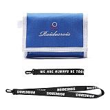 [로아드로아](랜야드증정)ROIDESROIS - CATCH ME WALLET (BLUE) 지갑 3단지갑