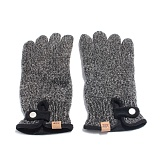 AHD OG LABEL WOOL GLOVES 털장갑