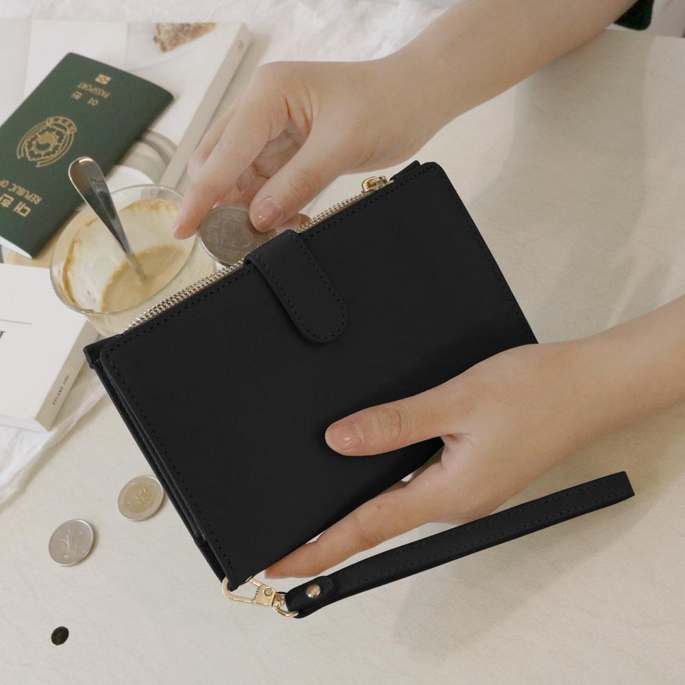 [디랩]D.LAB DH88 (안티스키밍) Passport Wallet -Black 여권지갑