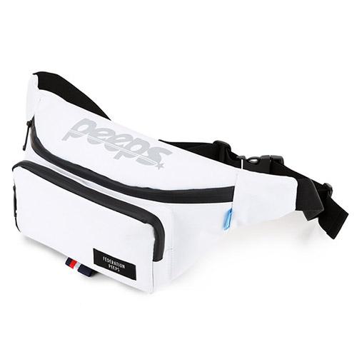 [핍스] run and gun waist bag(white)_웨이스트백_메신저백_힙색