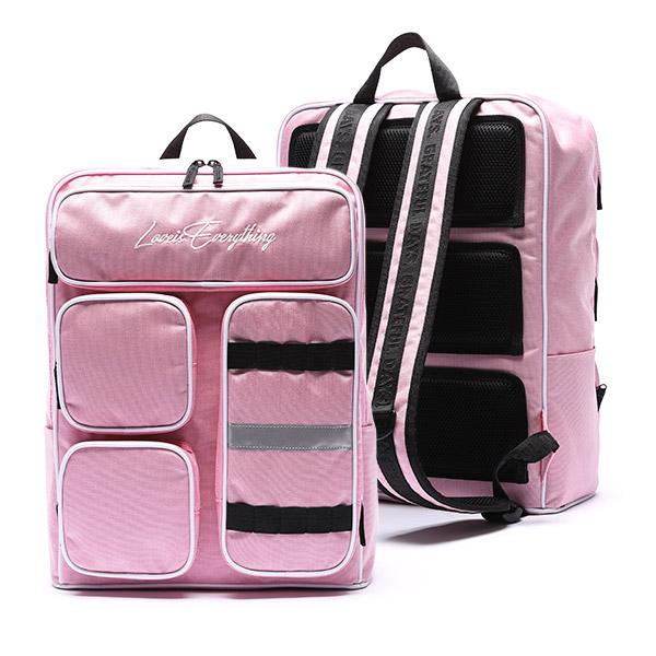 [유니온오브제] MINIMAL 4POCKET BACKPACK - PINK 백팩 가방
