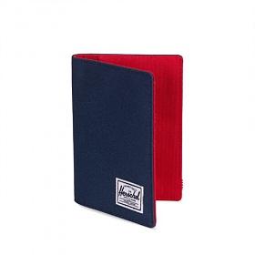 [허쉘]HERSCHEL - RAYNOR  PASSPORT HOLDER (NAVY/RED) 여권지갑