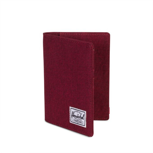 [허쉘]HERSCHEL - RAYNOR  PASSPORT HOLDER (WINETASTING CROSSHATCH) 여권지갑