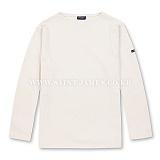 [세인트제임스]SAINT JAMES - 본사 남여공용 Guildo U (Ecru) 웨쌍 길도 무지 롱슬리브 긴팔 티셔츠