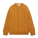 라퍼지스토어 - (Unisex) Cashmere Round knit_SunFlower 캐시미어 니트
