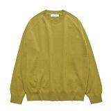 라퍼지스토어 - (Unisex) Cashmere Round knit_Willow 캐시미어 니트
