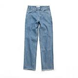 라퍼지스토어 - (Unisex) Core Denim Pants_Light Blue 청바지