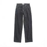 라퍼지스토어 - (Unisex) Core Denim Pants_Black 청바지