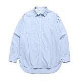 라퍼지스토어 - (Unisex) Alternate Stripe Shirt_Sky 스트라이프셔츠