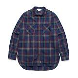라퍼지스토어 - (Unisex) Tartan Check Shirt Multi 타탄체크셔츠