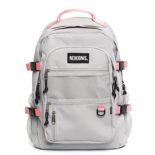 [네이키드니스] ABSOLUTE BACKPACK / GRAY PINK 앱솔루트 백팩 가방