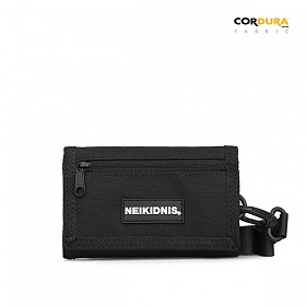 [네이키드니스] VELCRO WALLET / BLACK