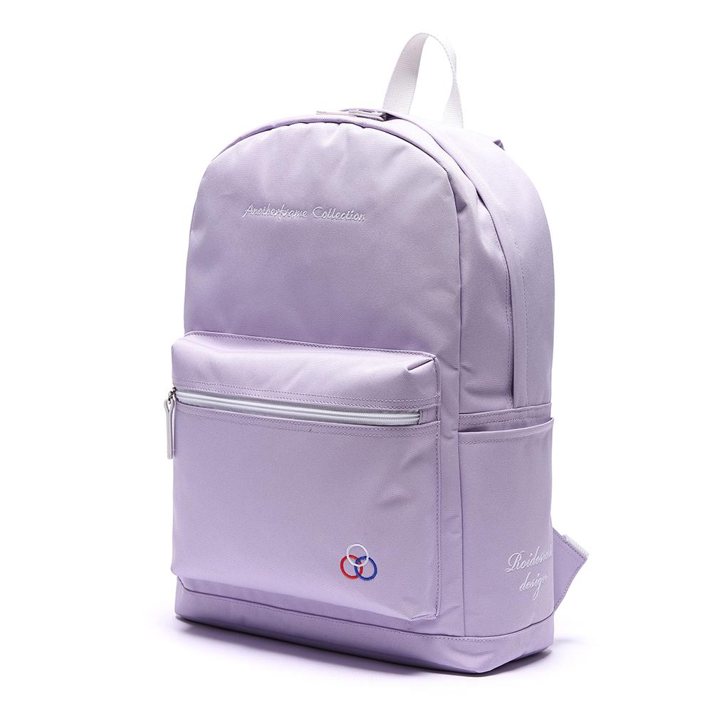 [로아드로아] YUM YUM BACKPACK (LAVENDER) 백팩가방 데이백 무지백팩 얌얌백팩 학생가방 신학기