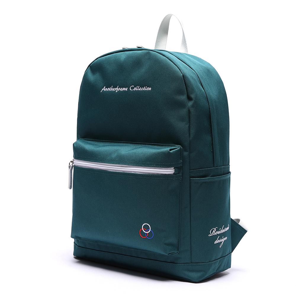 [로아드로아] YUM YUM BACKPACK (GREEN) 백팩가방 데이백 무지백팩 얌얌백팩