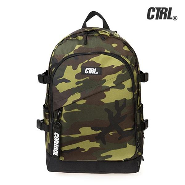 [씨티알엘]CTRL - A-3 MILITARY BACKPACK (CAMO) 밀리터리 백팩 가방