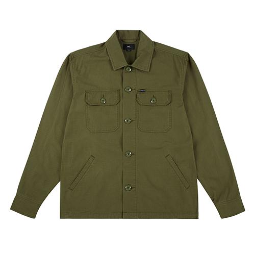 [오베이]OBEY - STEWART JACKET (ARMY) 셔츠자켓 자켓