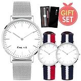 마음을 전하는 메시지 각인 손목시계♥ 선물세트! GL4010-SVMS
